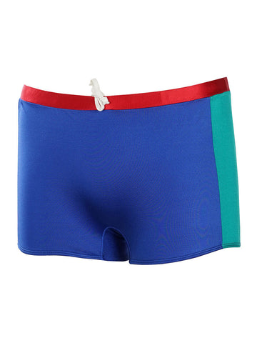 Men's Color Block Square Swim Brief