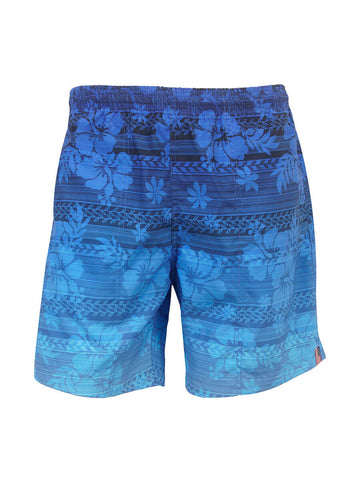 Men's Print Swim Trunk - Hibiscus Haze