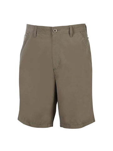 Men's Flat Front Travel Stretch Technology Short - Sandalwood