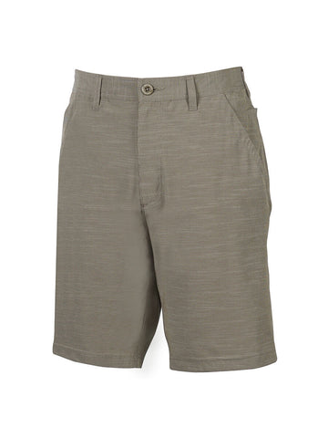Men's Flat Front Travel 4-Way Stretch Technology Short - Caicos