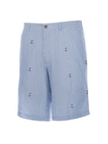 Men's Flat Front Seersucker Short - Anchor