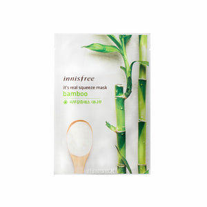 INNISFREE It's Real Squeeze Mask - Bamboo