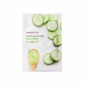 INNISFREE It's Real Squeeze Mask - Cucumber