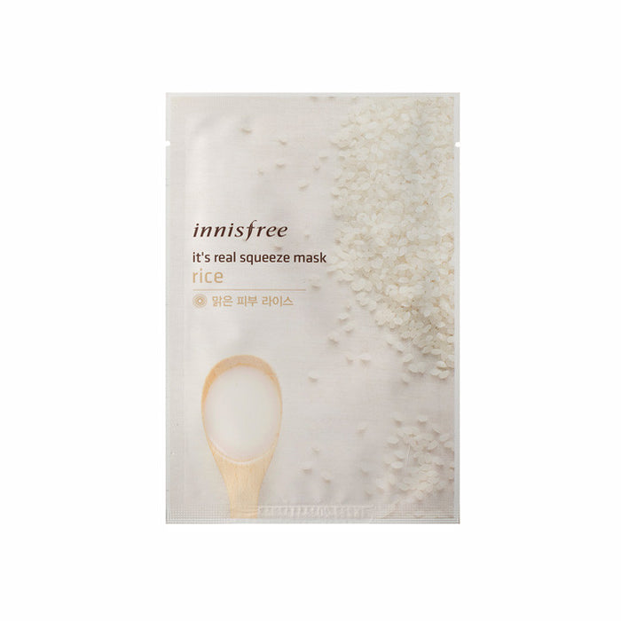 INNISFREE It's Real Squeeze Mask - Rice