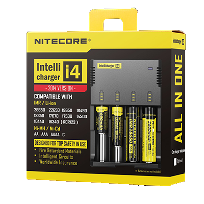 NITECORE i4 CHARGER ( New Features)