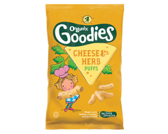 Organix Goodies Cheese & Herb Puffs