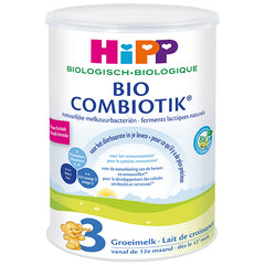 HiPP Dutch Stage 3 Organic Bio Combiotic Growth Milk Formula, 3 cans