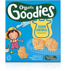 Organix Goodies Farm Animal Biscuits