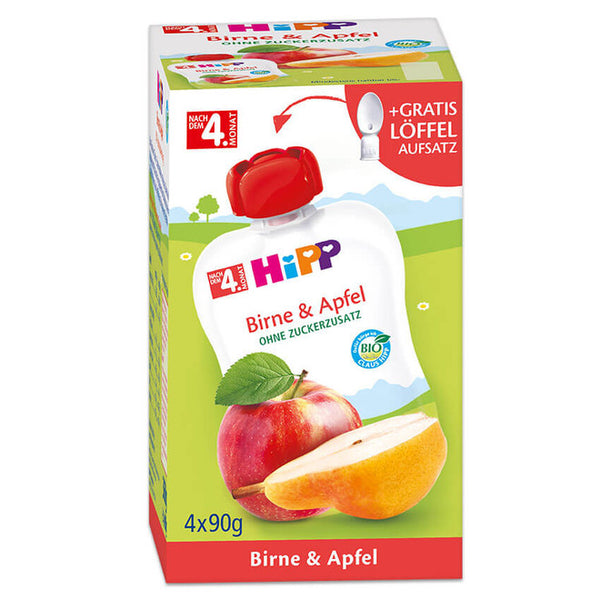HiPP Organic Puree Apple and Pear Fruit Pouch