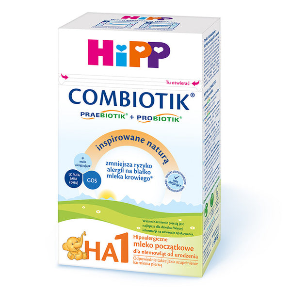 HiPP HA 1 Combiotic No Starch Formula, 3 Boxes