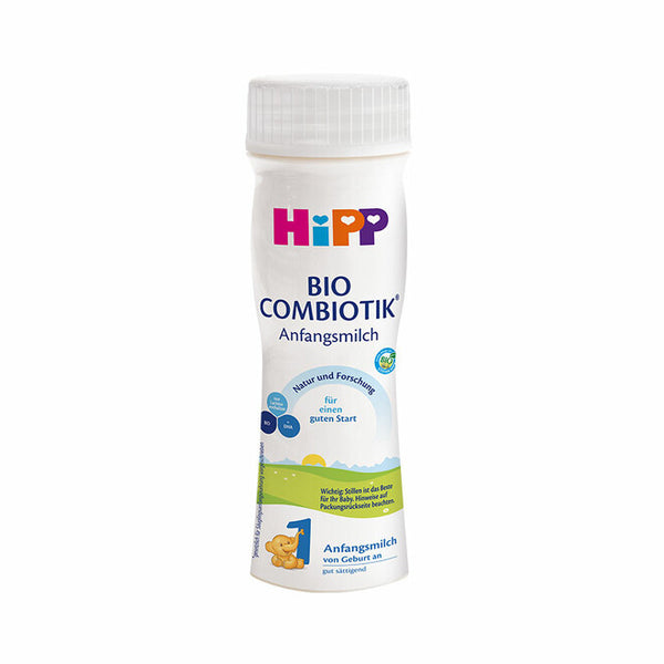 HiPP Stage 1 Organic BIO Combiotik Baby Formula 200ml Ready to Feed - 6 pack
