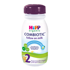 HiPP UK Stage 2 Organic Combiotic Follow on Milk Ready to Feed