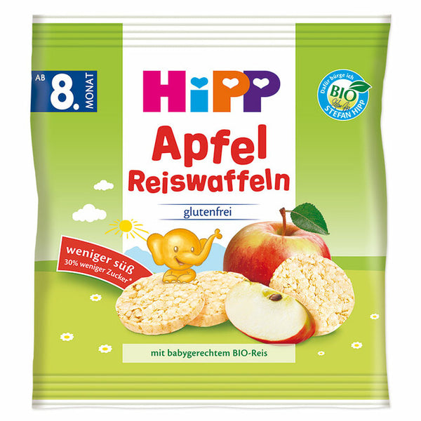HiPP Organic Apple Rice Cakes
