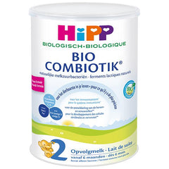 HiPP Dutch Stage 2 Organic Bio Combiotic Follow-on Milk Formula, 12 cans
