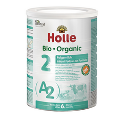 Holle A2 Organic Cow milk Infant follow-on formula stage 2 800g From 6 months on