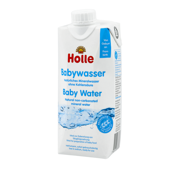 Holle baby water Natural non-carbonated mineral water suitable from birth 500ml