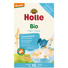 Holle Organic Junior Muesli Multigrain Porridge with Cornflakes