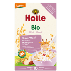 Holle Organic Junior Muesli Multigrain Porridge with Fruits