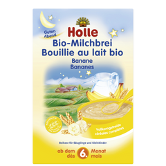 Holle Milk and Banana Organic Porridge