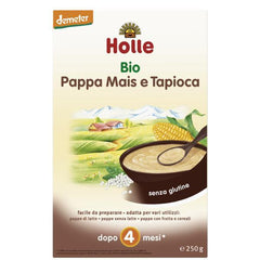 Holle Organic Baby Corn and Tapioca Cereal