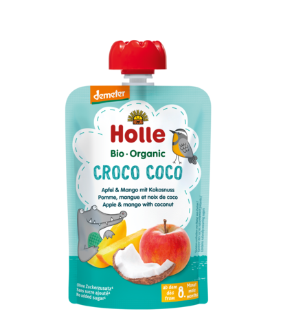 Holle Organic Croco Coco Fruit Pouch