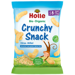 Holle Organic Millet Crunchy Snacks Puffs