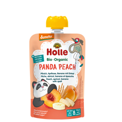 Holle Organic Panda Peach Fruit Pouch