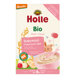 Holle Organic Baby Muesli Cereal