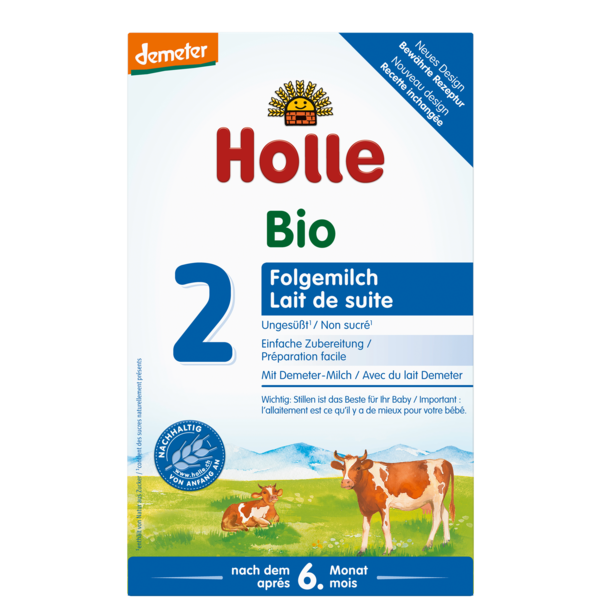 Holle Stage 2 Organic baby formula
