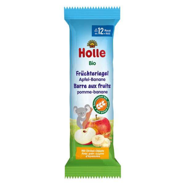 Holle Organic Apple & Banana Fruit Bar - 20 pack