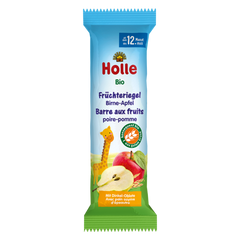 Holle Organic Apple and Pear Fruit Bars From 12 months on