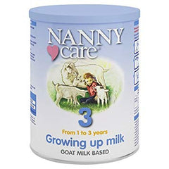 NANNY Care Stage 3 Growing Up Goat Milk Formula 400g