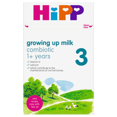 New HiPP UK stage 3 from 12+ months 600g