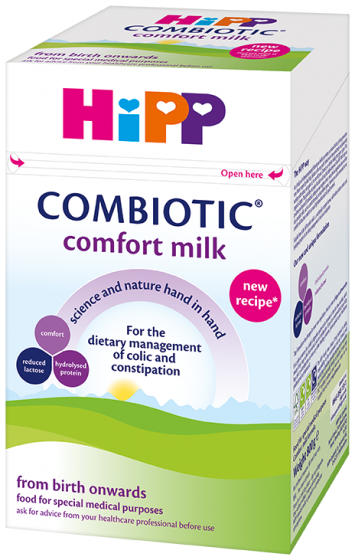New HiPP UK Comfort Milk 800g Birth onwards