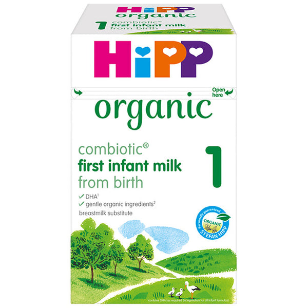 new HiPP UK stage 1 800g From Birth onwards