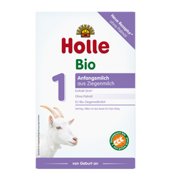 New Holle Goat Milk Formula Stage 1 from birth to 6 months