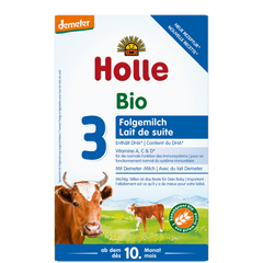 New Holle Cow Milk Formula stage 3 600g Suitable from 10 months on
