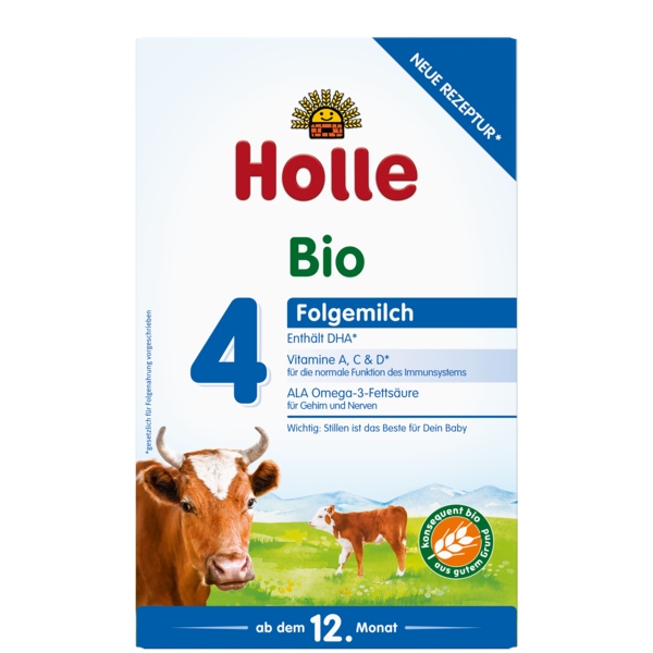 Holle Cow Organic Milk Formula Stage 4, 24 Boxes