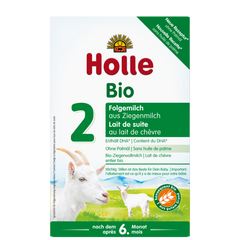 Holle Goat Milk formula stage 2 6 months onwards