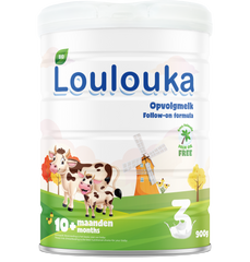 New Loulouka follow-on formula stage 3 from 10 months onwards