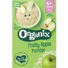 New Organix Fruity Apple Porridge 6+ months 120g