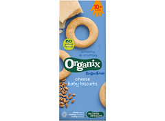 Organix Fingerfoods Cheese Baby Biscuits