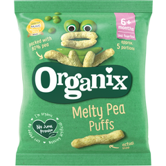 Organix Melty Pea Puffs 7+ months Fingerfood