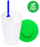 Powder Nest BPA Free Container with scoop storage