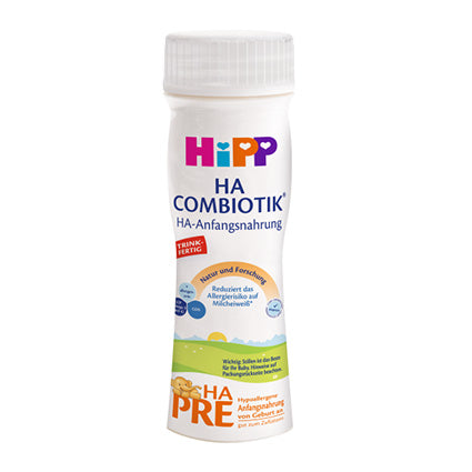 HIPP HA Pre Combiotic Baby Formula 200ml Ready To Feed - 6 pack