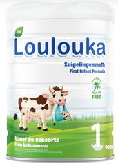 New Loulouka stage 1 900g can from birth to 6 months