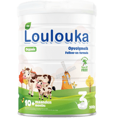 Loulouka Stage 3 Organic (Bio) Follow-on Milk, 3 cans