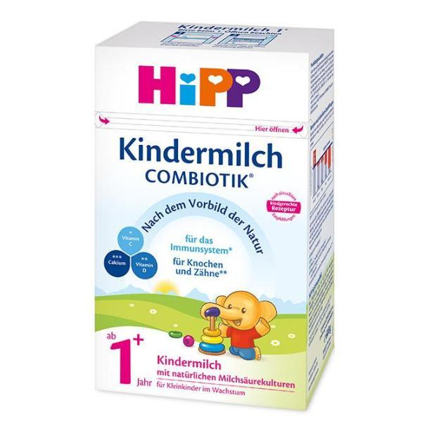 HiPP 1+ Years Combiotic Kindermilch Baby Formula, 6 boxes