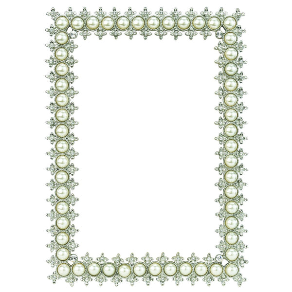 "CRYSTAL & PEARL 4"" x 6"" FRAME"