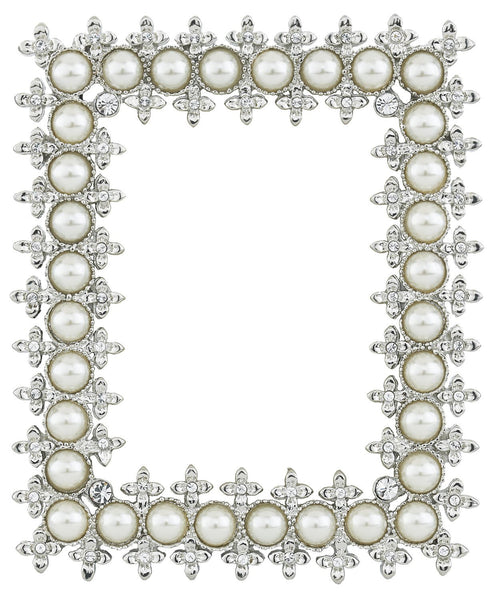 "CRYSTAL & PEARL 2.5"" x 3.5"" FRAME"